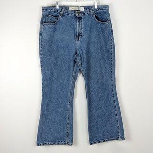 Vintage GAP Hi Waist Flare Plus Size Jean 20 Short